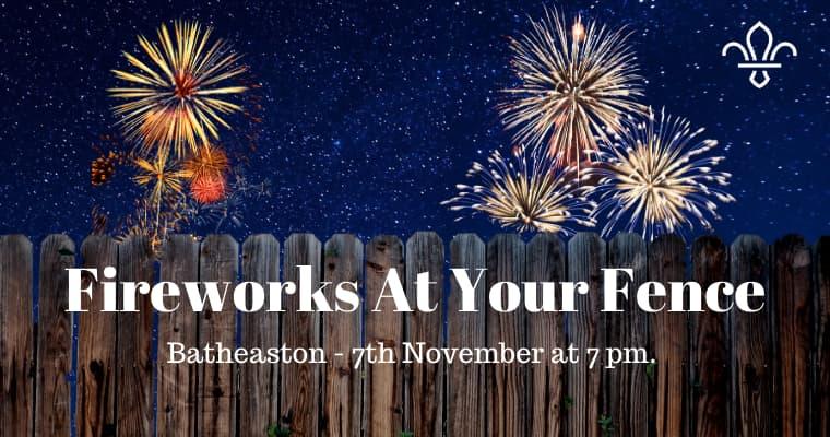 Bath Fireworks 2020